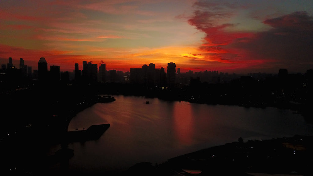Sunset @ Kallang Basin