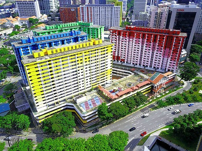 Rochor Centre Drone Footage