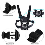 Smatree Dual Camera Chest Mount for Gopro / SJ4000 Cameras
