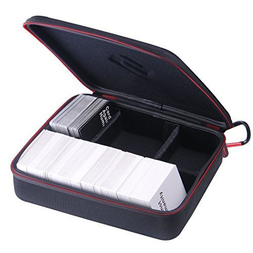 SmaCase H300 with 4 Moveable Dividers-Fits up to 1500 New Cards(Without the dividers)