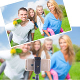 Smatree® SmaPole Q3 Telescoping Pole / Selfie Stick (Folding 3 Legs Support Stand + With Cell Phone Holder +Tripod Mount Adapter +Thumbscrew)