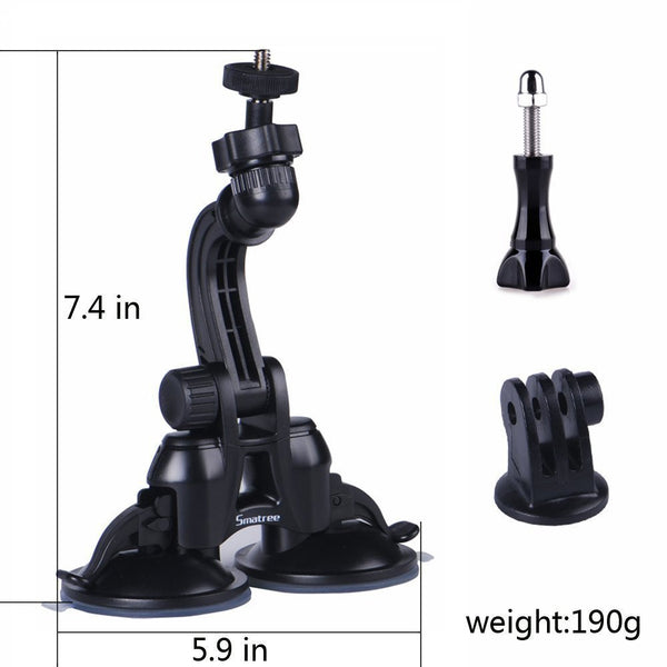 Smatree Double Suction Cup for greater suction power