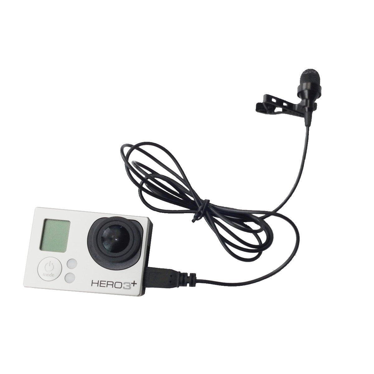 Telesin Professional Microphone for Gopro Hero 4 / 3+ / 3
