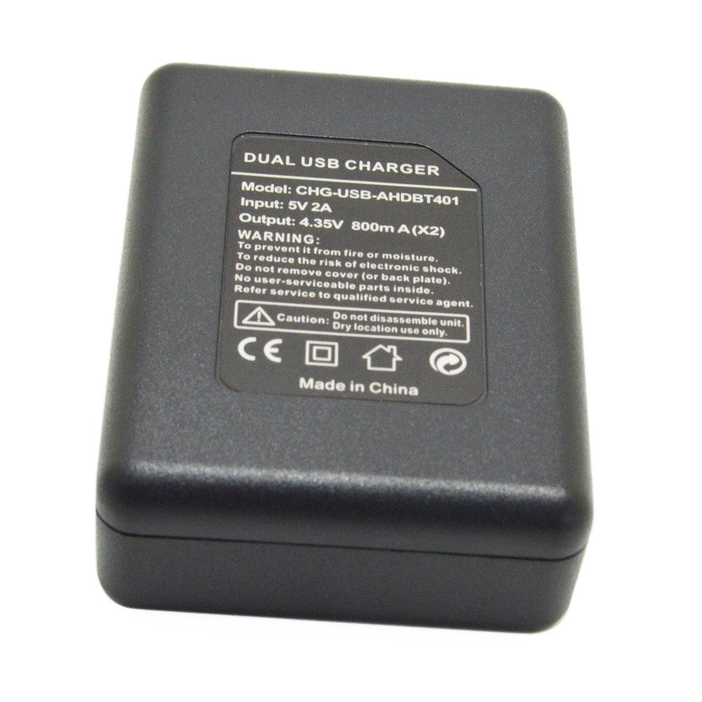 Dual Charger for Gopro 4