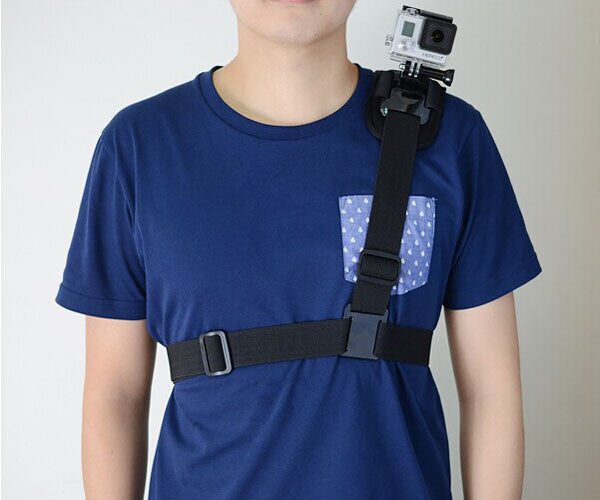 Shoulder Mount for Osmo Action / Gopro / SJ4000 Cameras