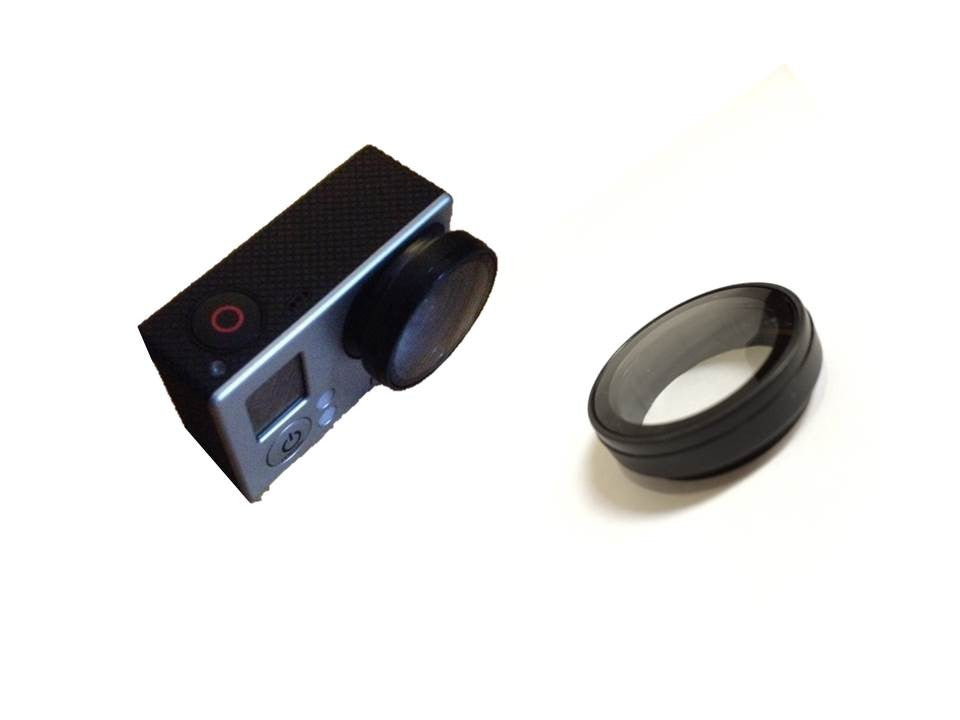 Protective Clear Lens for Gopro 3 / 3+ / 4