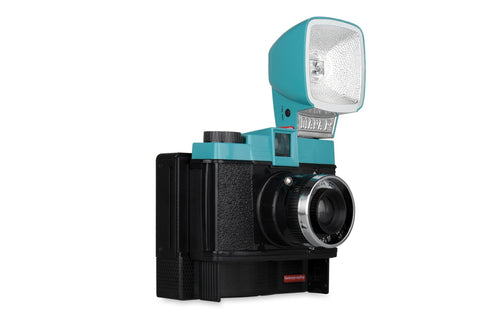 Lomography -  Diana F+ Instant Camera Backing [Rental]