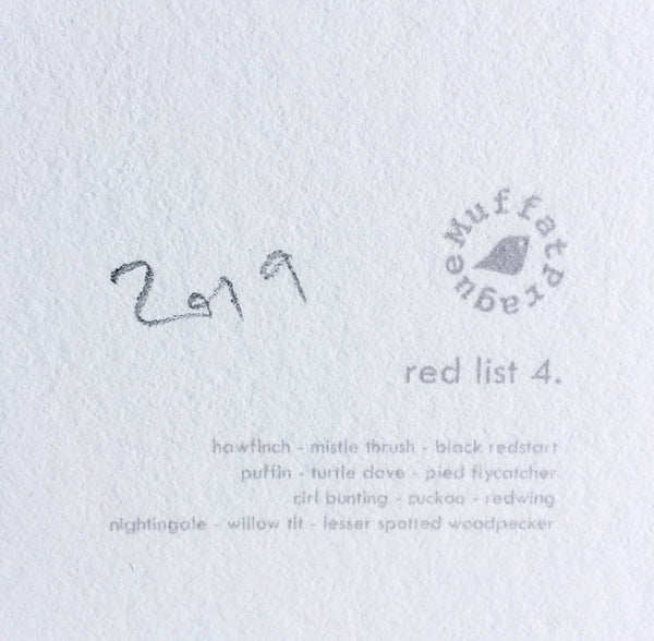 Red List | series 4.
