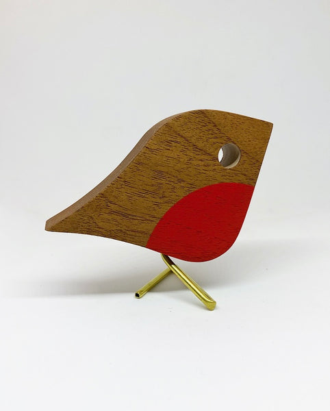 Large Robin | reclaimed Walnut