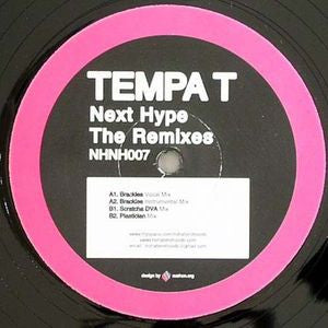 Tempa T - Next Hype Remixes 12""