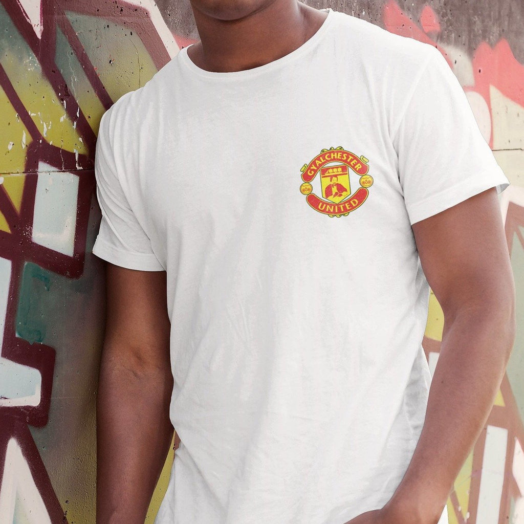 Gyalchester United White T Shirt