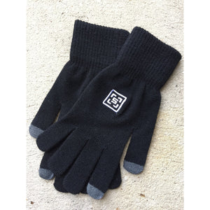 The Square Black Gloves