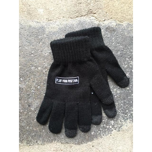 Merky Ace Black Gloves