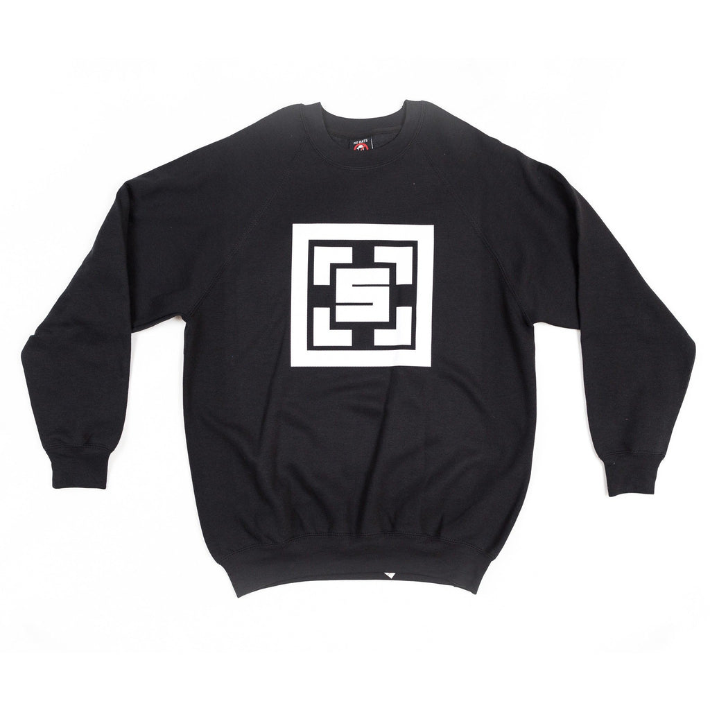The Square Black Sweatshirt