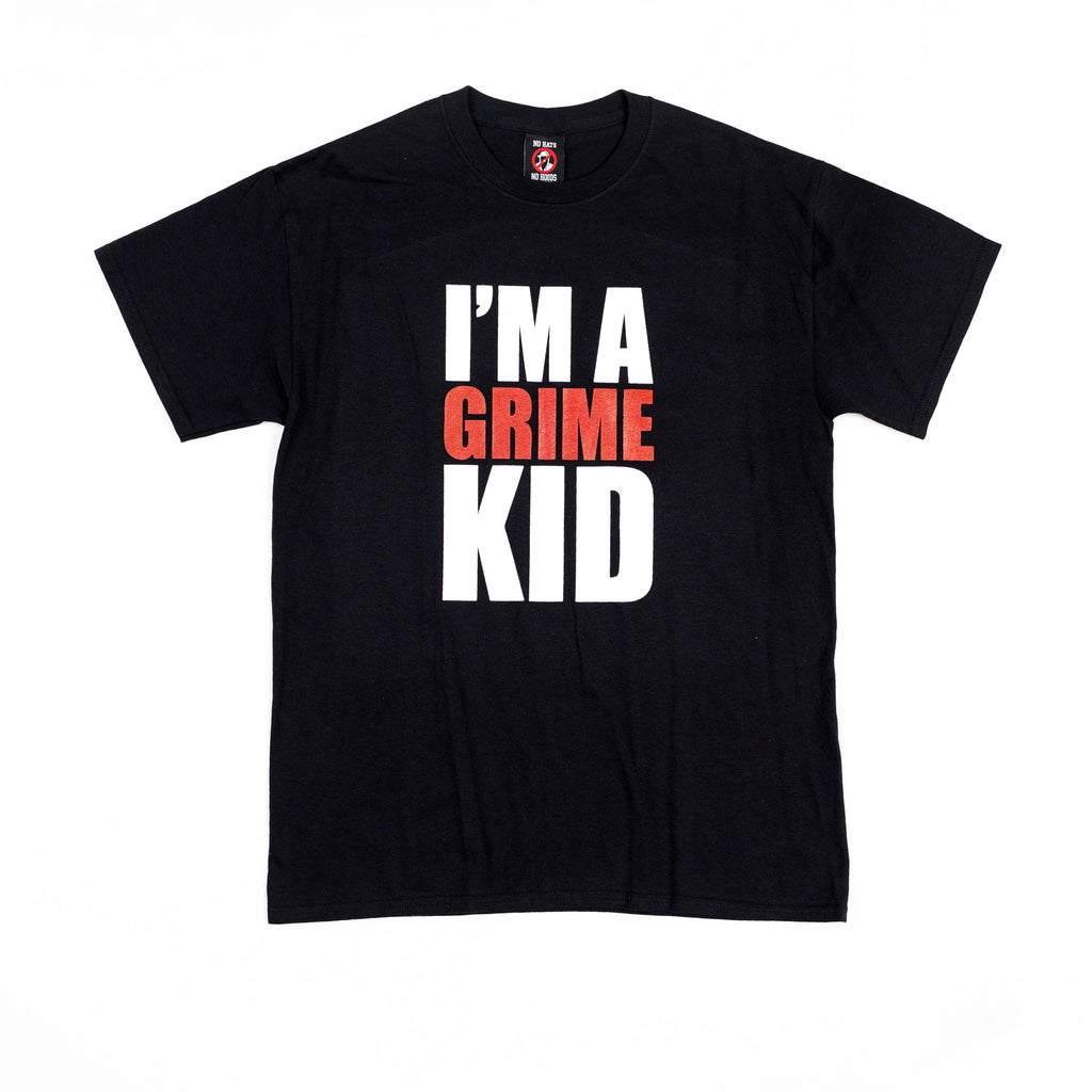 I'm A Grime Kid Black T Shirt