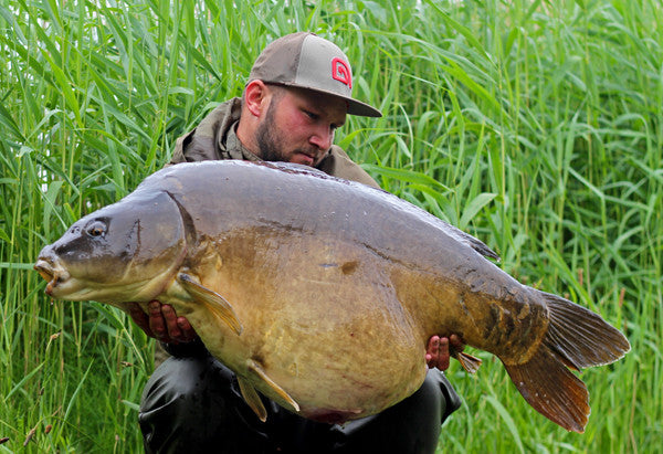 Colossal Belgian carp for Liam Gingell - New P.B