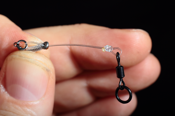 a nice round Loop formed by the swivel, this will allow your chod rig to perform to its optimum