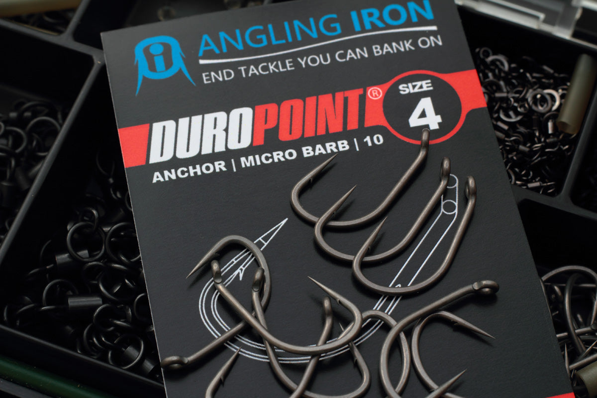 The much awaited Size 4 Duropoint Anchor hooks - Available now!