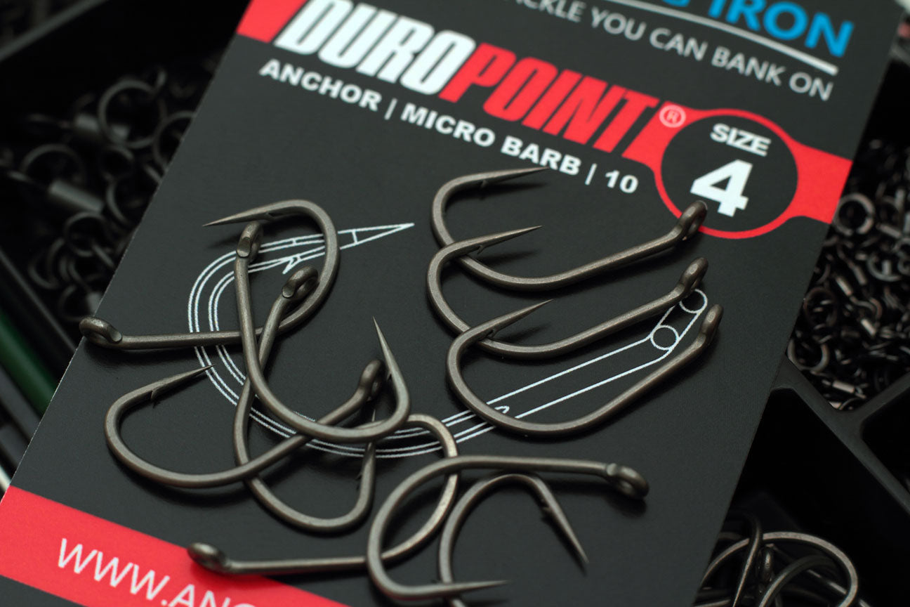 Another view of the awesome Duropoint Anchor hooks in a size 4
