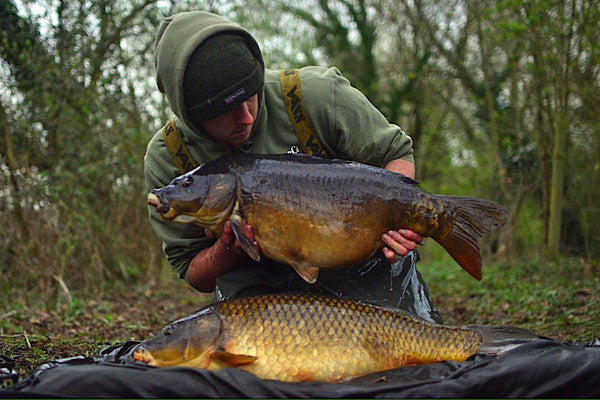 Dan Handley rounded off his time on the berkshire club water in style with this fantastic brace of carp