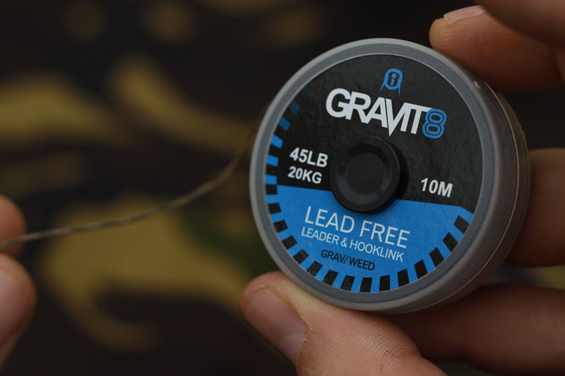 How to construct a helicopter rig leader – Gravit8 unleaded leader.