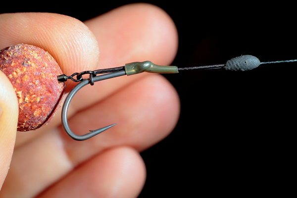 "Our Transkhaki shrink tube prevents the ""D"" closing on the cast and doubles u nicely as a line aligner if you use the multi rig with a bottom bait"
