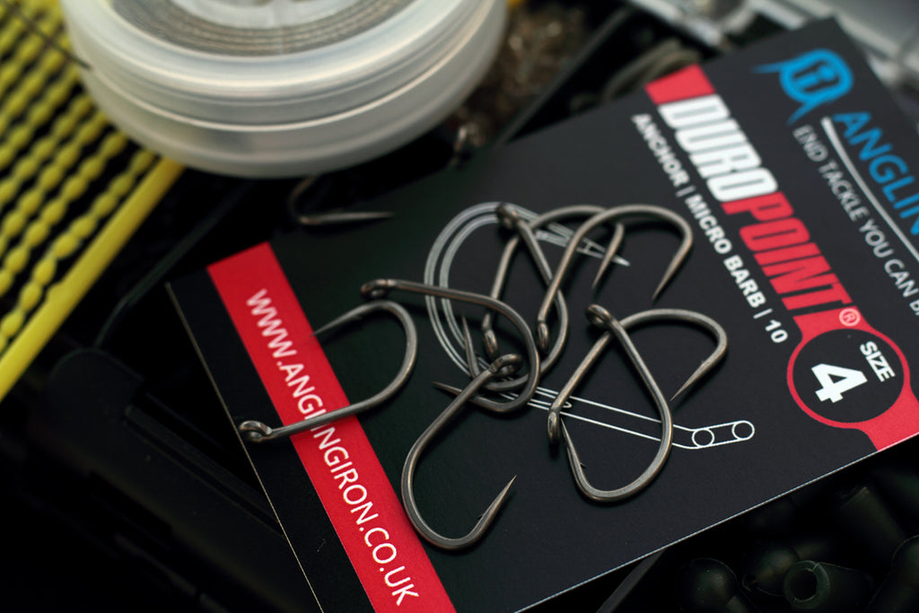 Duropoint Anchor hooks - the perfect hook for the Slip D rig