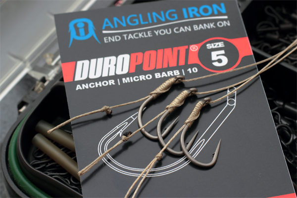 The new Duropoint Anchor hook  from Angling iron - Big carp