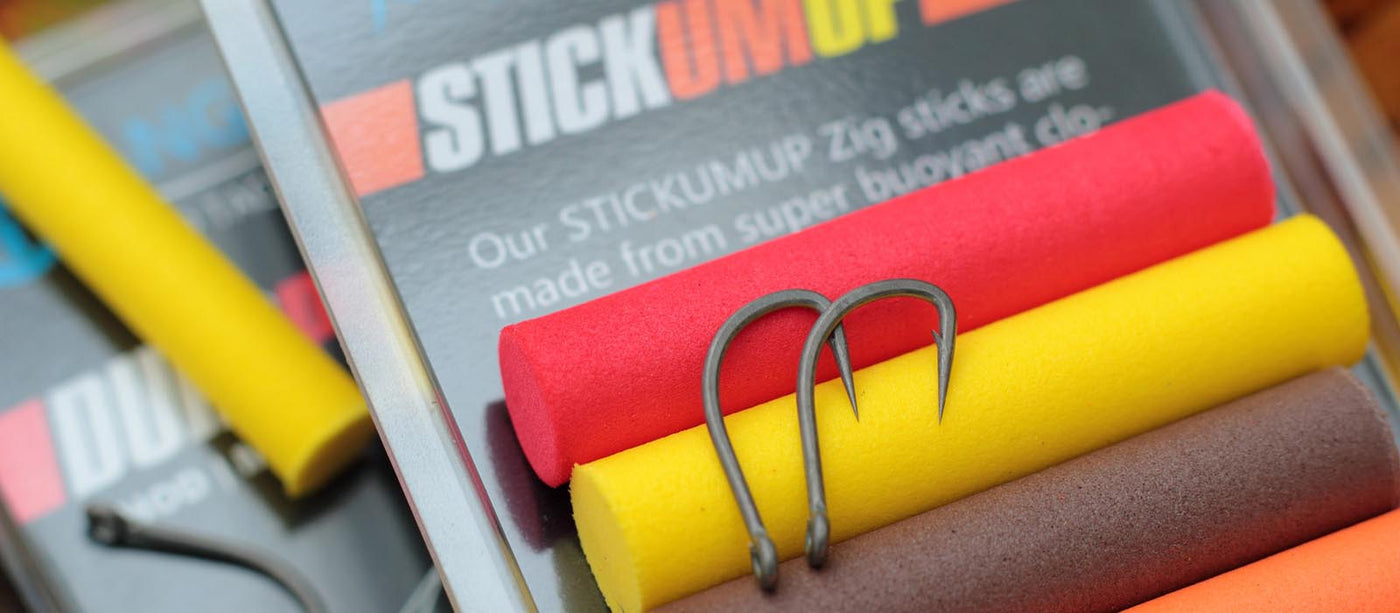 STICKUMUP: A range of Zig products and artificial baits