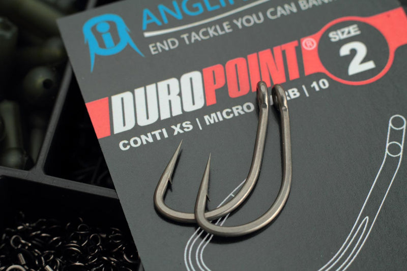 Duropoint CONTI XS Carp hooks - the ultimate hook for European carp fishing