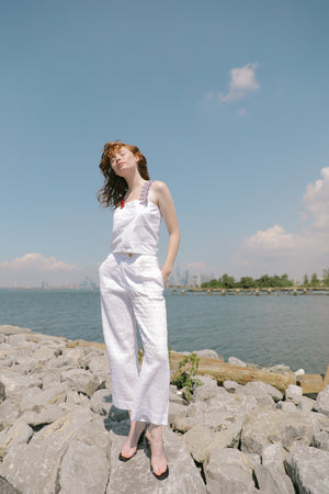 Smocking Lady Pants | Cloud
