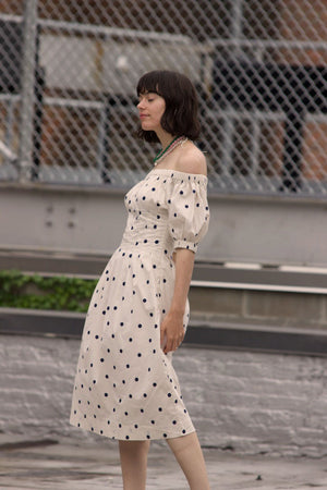 Anda Dress | Polka Dot