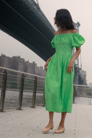 Anda Dress | Green Light