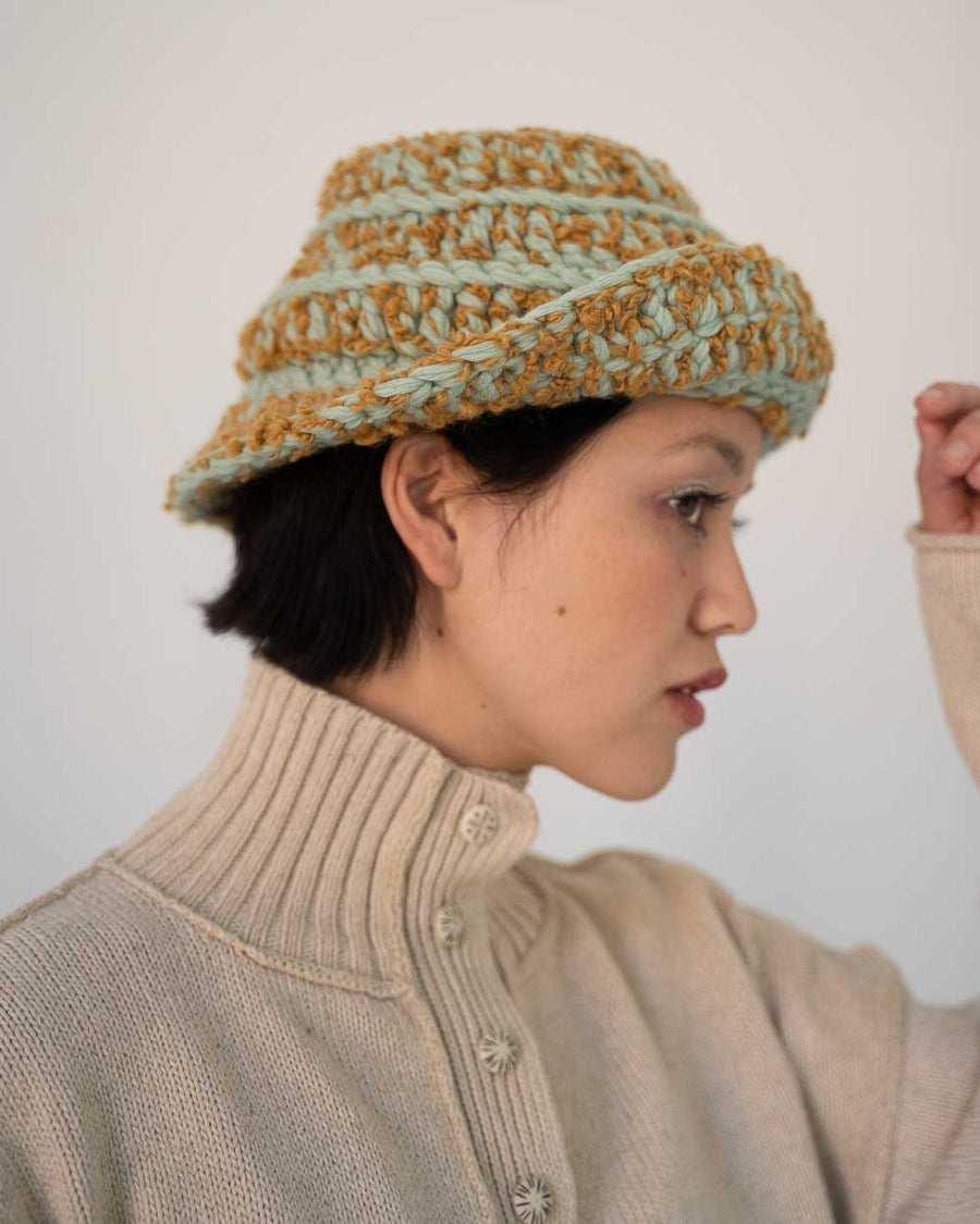 Crazy Bucket Hat | Matcha Honey