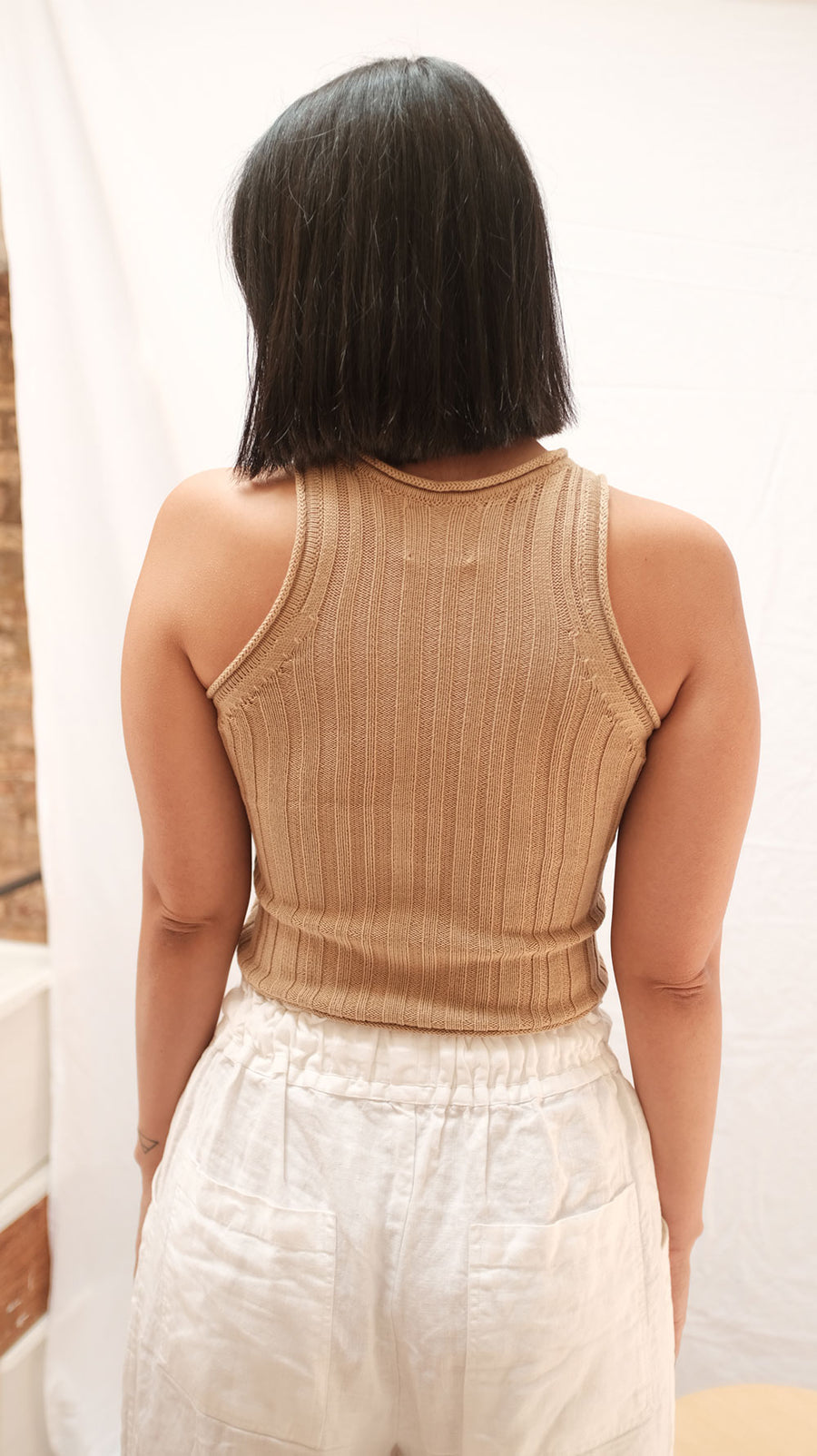 Phillia Crop | Latte