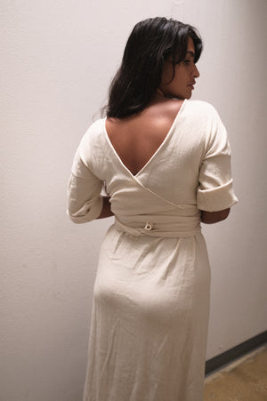 Monologue Dress | Undyed