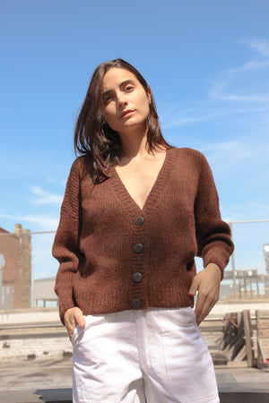 Feliz Cardigan | Molasses