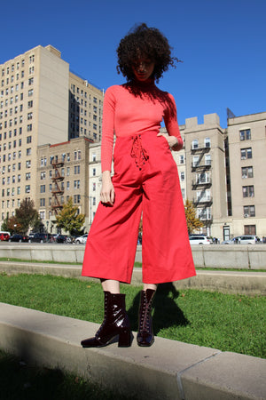 Bottomless Pants | Rojo