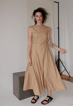 It Takes Two to Tango Dress | Latte