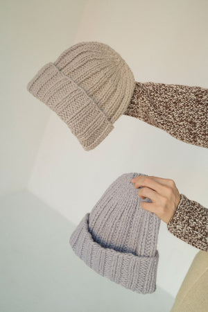 Cloud Beanie | Hint of Lilac