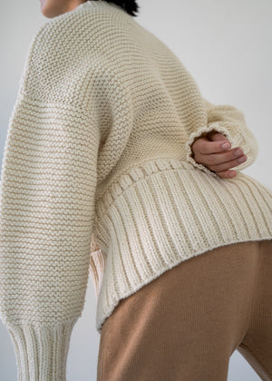 Cotton Candy Pullover | Undyed Wool