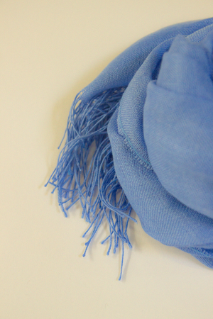 The Spring Scarf | Azure