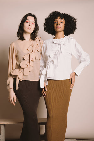 Plaza Blouse | Warm Sands