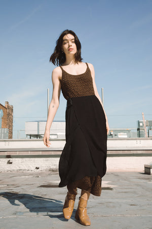 Viento Skirt | Ink