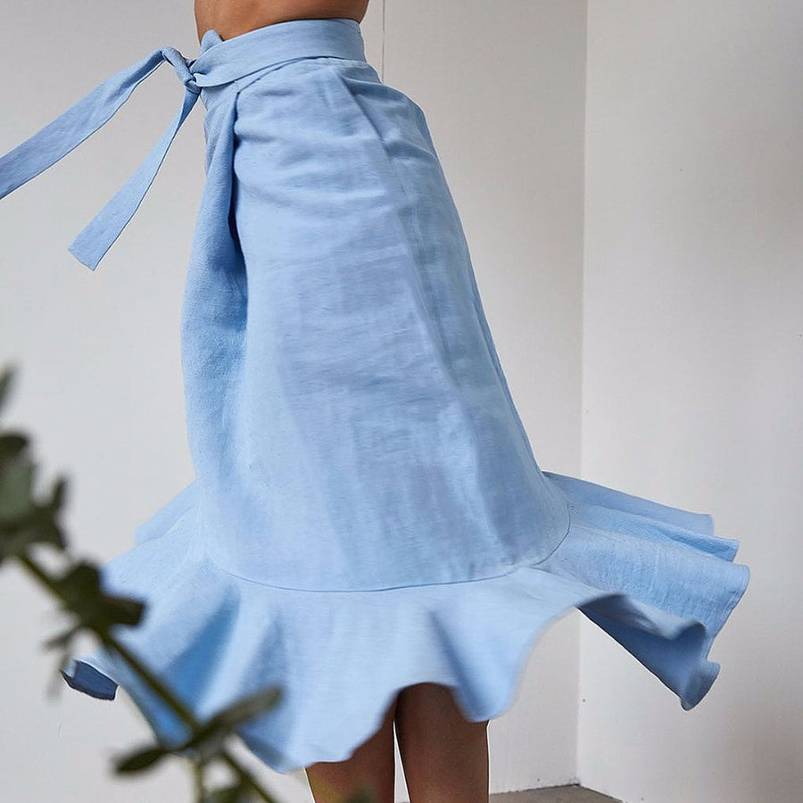 Flamenca Skirt | Sky