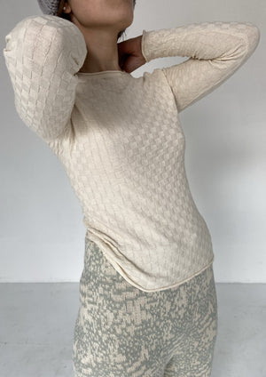 Eros long sleeve | Undyed