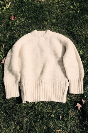 |PRE-ORDER| Cotton Candy Pullover | Undyed Wool