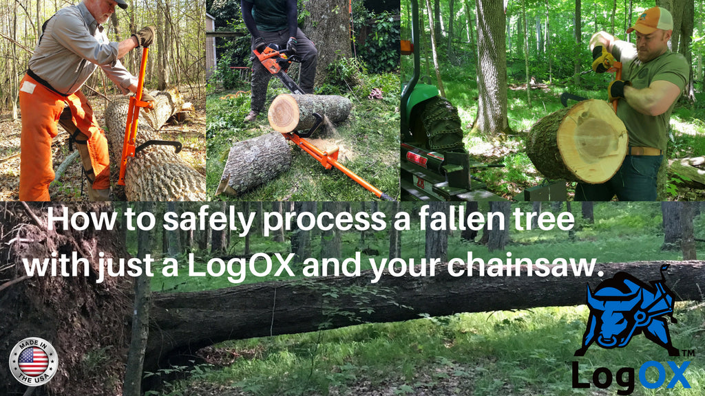 Forestry MultiTool combines a log hauler, cant hook, and