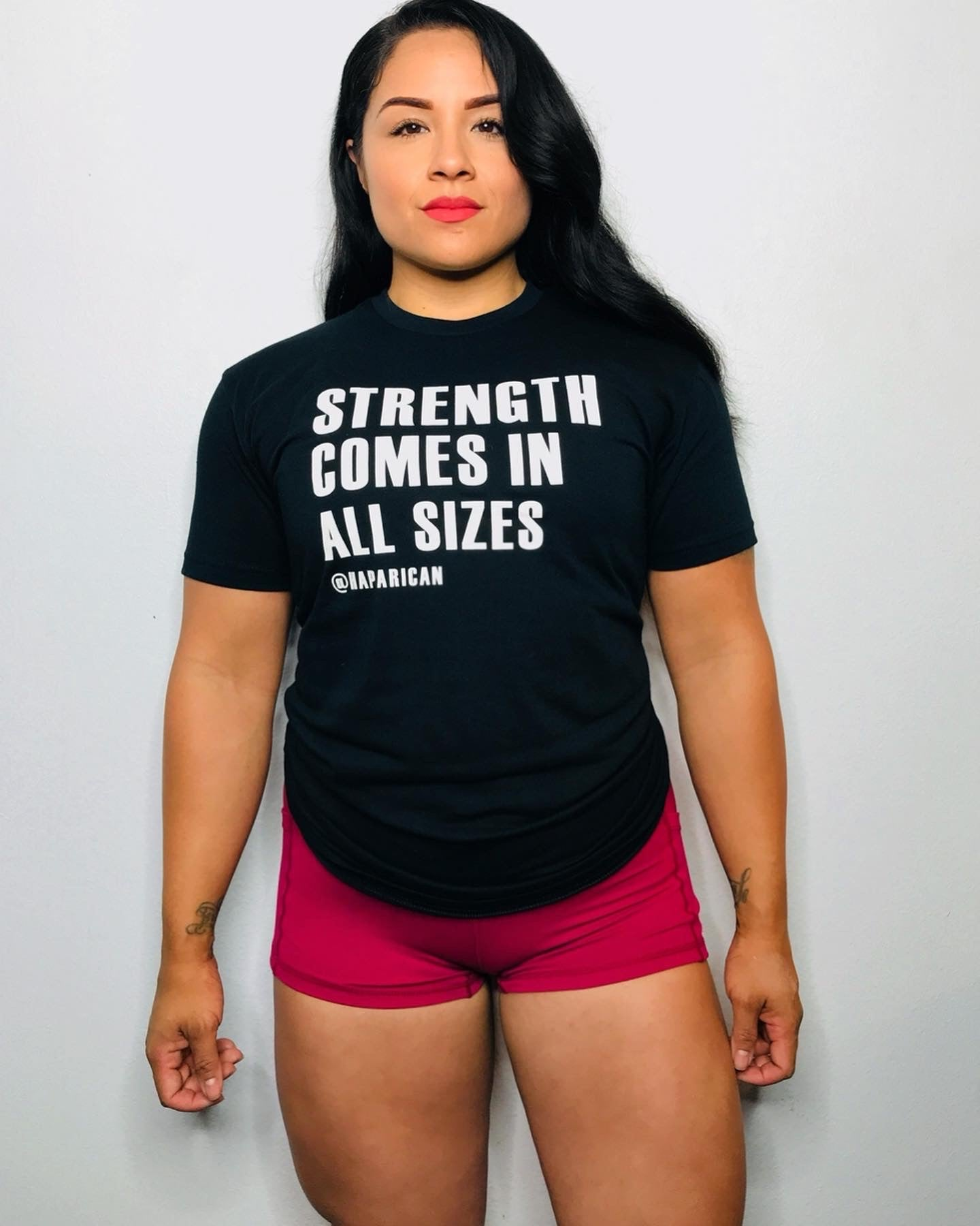 STRENGTH IN ALL SIZES UNISEX T-SHIRT