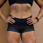 Onyx Cheetah Shorts